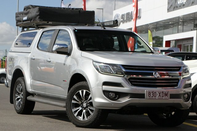 Used Holden Colorado RG MY16 LTZ Crew Cab 4x2 Aspley, 2016 Holden Colorado RG MY16 LTZ Crew Cab 4x2 Silver 6 Speed Sports Automatic Utility