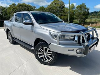 2018 Toyota Hilux GUN126R SR5 Double Cab Silver 6 Speed Sports Automatic Utility.