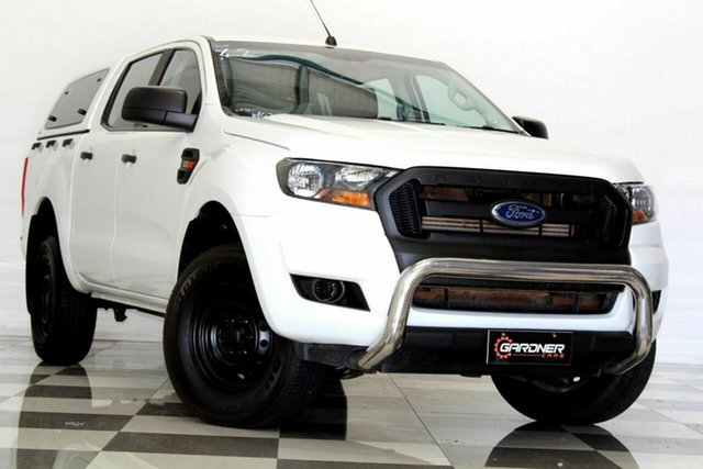 Used Ford Ranger PX MkII MY17 XL 3.2 (4x4) Burleigh Heads, 2016 Ford Ranger PX MkII MY17 XL 3.2 (4x4) White 6 Speed Automatic Crew Cab Utility