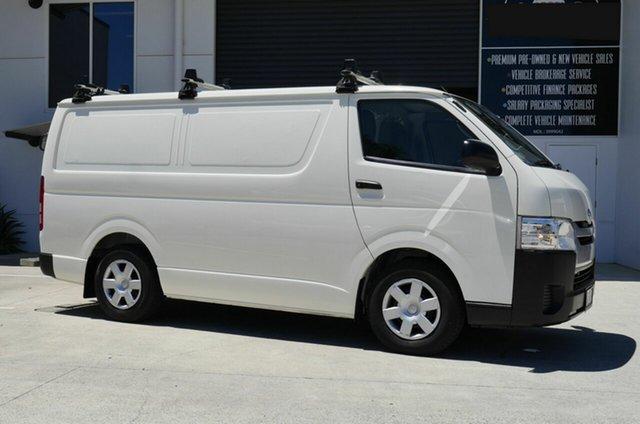 Used Toyota HiAce KDH201R LWB Capalaba, 2018 Toyota HiAce KDH201R LWB White 5 Speed Manual Van