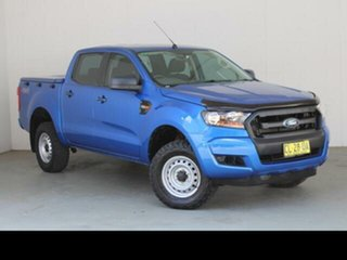 2017 Ford Ranger PX MkII MY17 Update XL 3.2 (4x4) Blue 6 Speed Automatic Crew Cab Utility