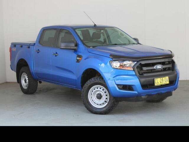 Used Ford Ranger PX MkII MY17 Update XL 3.2 (4x4) Phillip, 2017 Ford Ranger PX MkII MY17 Update XL 3.2 (4x4) Blue 6 Speed Automatic Crew Cab Utility