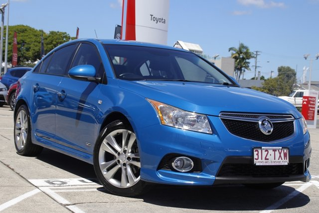 Pre-Owned Holden Cruze JH Series II MY14 SRi Z Series Albion, 2014 Holden Cruze JH Series II MY14 SRi Z Series Blue 6 Speed Sports Automatic Sedan