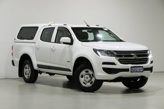 2017 Holden Colorado RG MY17 LS (4x2) White 6 Speed Automatic Crew Cab Pickup.