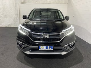 2015 Honda CR-V RM Series II MY16 VTi-S 4WD Crystal Black 5 Speed Sports Automatic Wagon.
