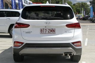 2019 Hyundai Santa Fe TM.2 MY20 Highlander White Cream 8 Speed Sports Automatic Wagon