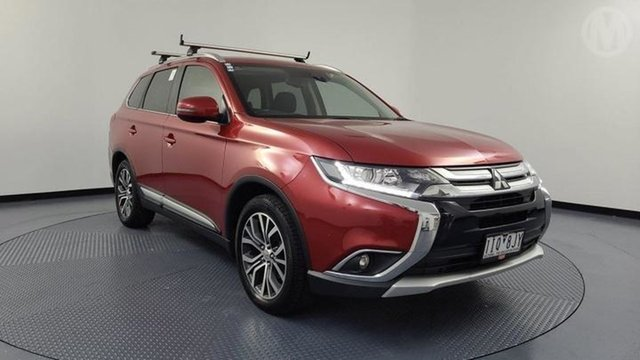 Used Mitsubishi Outlander ZK MY17 LS Safety Pack (4x2) Altona North, 2016 Mitsubishi Outlander ZK MY17 LS Safety Pack (4x2) Red Continuous Variable Wagon