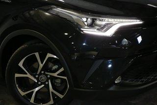 2017 Toyota C-HR NGX50R Koba S-CVT AWD Black 7 Speed Constant Variable Wagon.