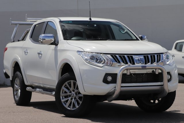 Used Mitsubishi Triton MQ MY17 GLS Double Cab Windsor, 2016 Mitsubishi Triton MQ MY17 GLS Double Cab White 5 Speed Sports Automatic Utility