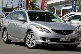 2008 Mazda 6 GH1051 Classic Silver 5 Speed Sports Automatic Wagon