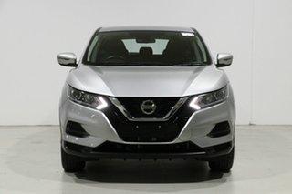 2019 Nissan Qashqai J11 MY18 ST Silver Continuous Variable Wagon.
