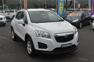 2014 Holden Trax TJ MY14 LS White 6 Speed Automatic Wagon.