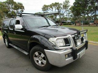 2008 Nissan Navara D40 ST-X Black 4 Speed Automatic Dual Cab.