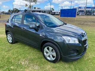 2016 Holden Trax TJ MY16 Active Grey 5 Speed Manual Wagon.