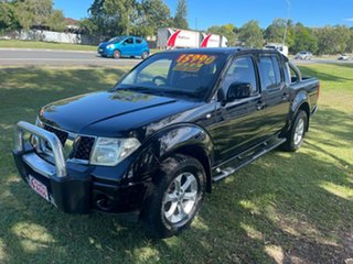 2010 Nissan Navara D22 MY2010 ST-R Black 5 Speed Manual Utility