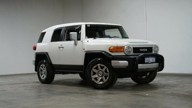 Used Toyota FJ Cruiser GSJ15R MY14 Welshpool, 2014 Toyota FJ Cruiser GSJ15R MY14 White 5 Speed Automatic Wagon