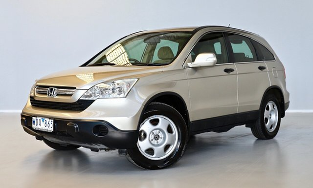 Used Honda CR-V RE MY2007 4WD Thomastown, 2007 Honda CR-V RE MY2007 4WD Gold 6 Speed Manual Wagon