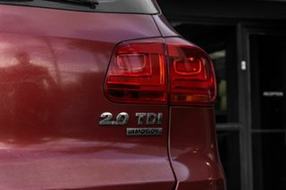 2014 Volkswagen Tiguan 5N MY14 103TDI DSG 4MOTION Pacific Red 7 Speed Sports Automatic Dual Clutch