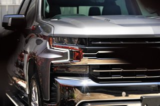2020 Chevrolet Silverado T1 MY21 Satin Steel Grey 10 Speed Automatic Utility.