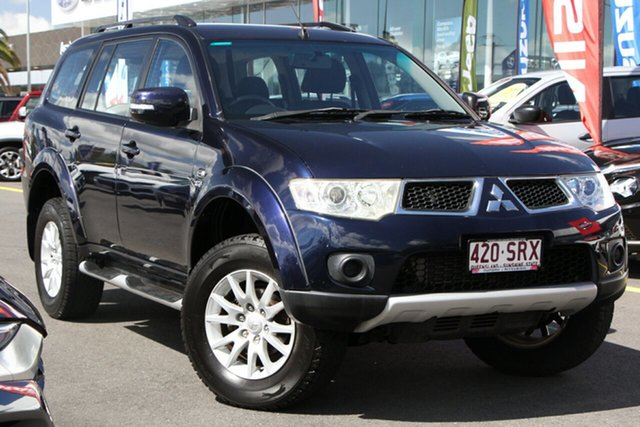 Used Mitsubishi Challenger PB (KH) MY12 LS Aspley, 2012 Mitsubishi Challenger PB (KH) MY12 LS Blue 5 Speed Sports Automatic Wagon
