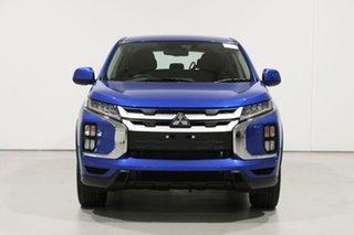 2019 Mitsubishi ASX XD MY20 ES (2WD) Blue Continuous Variable Wagon.
