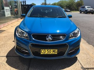 2013 Holden Commodore VF SV6 Blue Sports Automatic.