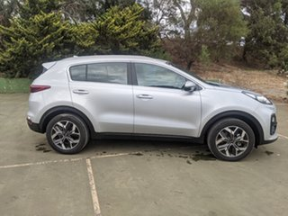 2020 Kia Sportage QL MY21 SX 2WD Sparkling Silver 6 Speed Sports Automatic Wagon