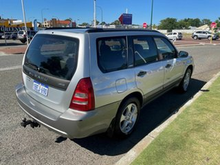 2002 Subaru Forester MY03 XS Silver 4 Speed Automatic Wagon