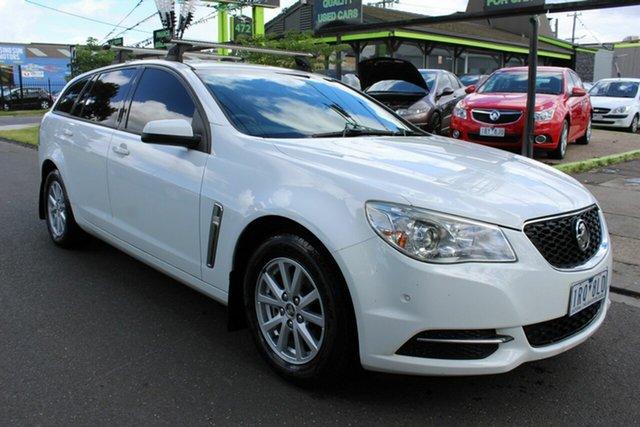 Used Holden Commodore VF MY14 Evoke Sportwagon West Footscray, 2014 Holden Commodore VF MY14 Evoke Sportwagon White 6 Speed Sports Automatic Wagon