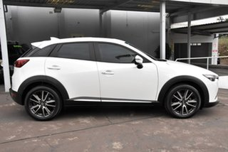2016 Mazda CX-3 DK4WSA Akari SKYACTIV-Drive i-ACTIV AWD White 6 Speed Sports Automatic Wagon.