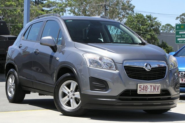 Used Holden Trax TJ MY14 LS Aspley, 2013 Holden Trax TJ MY14 LS Grey 6 Speed Automatic Wagon