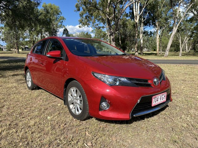 Pre-Owned Toyota Corolla ZRE182R Ascent Sport Chinchilla, 2014 Toyota Corolla ZRE182R Ascent Sport Wildfire 7 Speed CVT Auto Sequential Hatchback