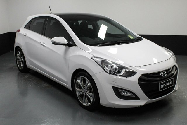 Used Hyundai i30 GD Premium Hamilton, 2012 Hyundai i30 GD Premium Cream 6 Speed Sports Automatic Hatchback