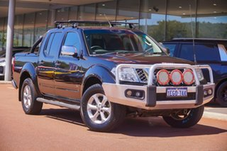 2013 Nissan Navara D40 S5 MY12 ST-X 550 Black 7 Speed Sports Automatic Utility.