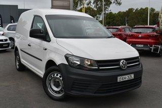 2017 Volkswagen Caddy 2KN MY17.5 TSI220 SWB DSG White 7 Speed Sports Automatic Dual Clutch Van.