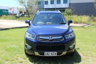 2012 Holden Captiva CG Series II MY12 7 AWD LX Blue 6 Speed Sports Automatic Wagon.