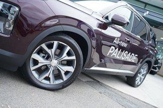2020 Hyundai Palisade LX2.V1 MY21 Highlander AWD Sierra Burgundy 8 Speed Sports Automatic Wagon.