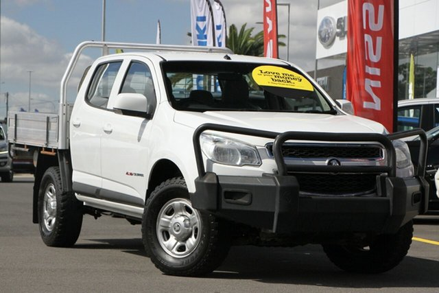 Used Holden Colorado RG MY16 LS Crew Cab Aspley, 2016 Holden Colorado RG MY16 LS Crew Cab White 6 Speed Sports Automatic Cab Chassis