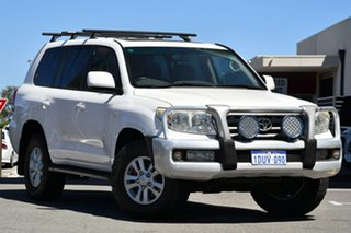 2008 Toyota Landcruiser UZJ200R VX White 5 Speed Sports Automatic Wagon.