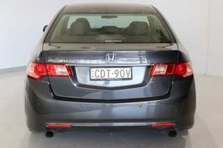 2011 Honda Accord Euro CU MY11 Luxury Grey 5 Speed Automatic Sedan.