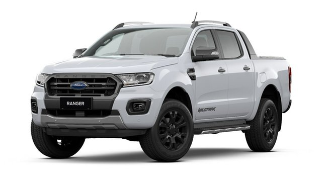New Ford Ranger PX MkIII 2021.25MY Wildtrak Tanunda, 2021 Ford Ranger PX MkIII 2021.25MY Wildtrak Arctic White 10 Speed Sports Automatic