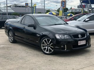 2011 Holden Ute VE II MY12 SS V Black 6 Speed Sports Automatic Utility.