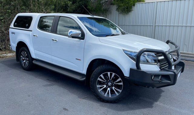 Used Holden Colorado RG MY17 LTZ Pickup Crew Cab Devonport, 2017 Holden Colorado RG MY17 LTZ Pickup Crew Cab Summit White 6 Speed Sports Automatic Utility