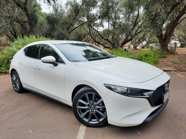 Used Mazda 3 BP2H7A G20 SKYACTIV-Drive Touring Adelaide, 2019 Mazda 3 BP2H7A G20 SKYACTIV-Drive Touring White 6 Speed Sports Automatic Hatchback