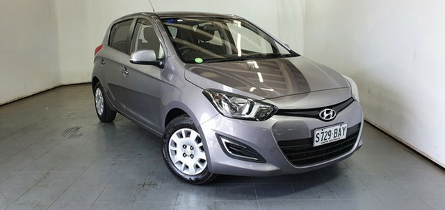 Used Hyundai i20 PB MY14 Active Elizabeth, 2014 Hyundai i20 PB MY14 Active Silver 4 Speed Automatic Hatchback