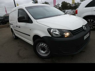 2014 Volkswagen Caddy 2K MY15 Maxi TDI250 White 7 Speed Auto Direct Shift Van.