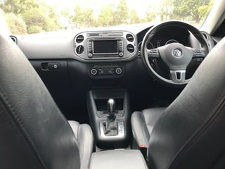 2012 Volkswagen Tiguan 5N MY12.5 132TSI Tiptronic 4MOTION Pacific Silver 6 Speed Sports Automatic