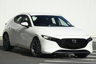 2020 Mazda 3 BP2HLA G25 SKYACTIV-Drive GT Snowflake White Pearl 6 Speed Sports Automatic Hatchback.