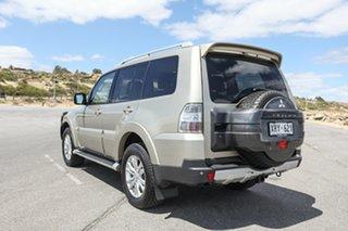 2008 Mitsubishi Pajero NT MY09 VR-X Gold 5 Speed Sports Automatic Wagon