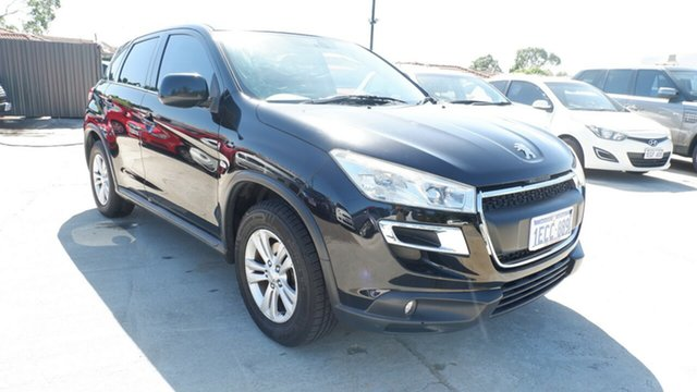 Used Peugeot 4008 MY12 Active 4WD St James, 2012 Peugeot 4008 MY12 Active 4WD Black 6 Speed Constant Variable Wagon
